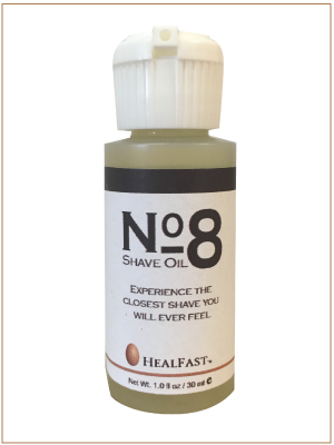 HealFast, HealFast Skincare, L'Avenir HealFast, No 8 Shave Oil, Oil to shave, Ovasome Technology, Shave Body, Shave face, Shave Head, Shave Legs, Shaving, Shaving Oil